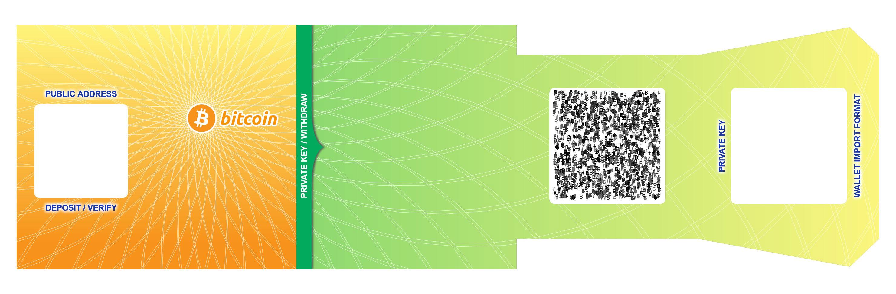 Bitcoin Paper Wallet Generator