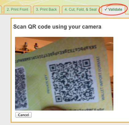 Scanning Bitcoin Address QR Barcodes Using Your Camera/Webcam